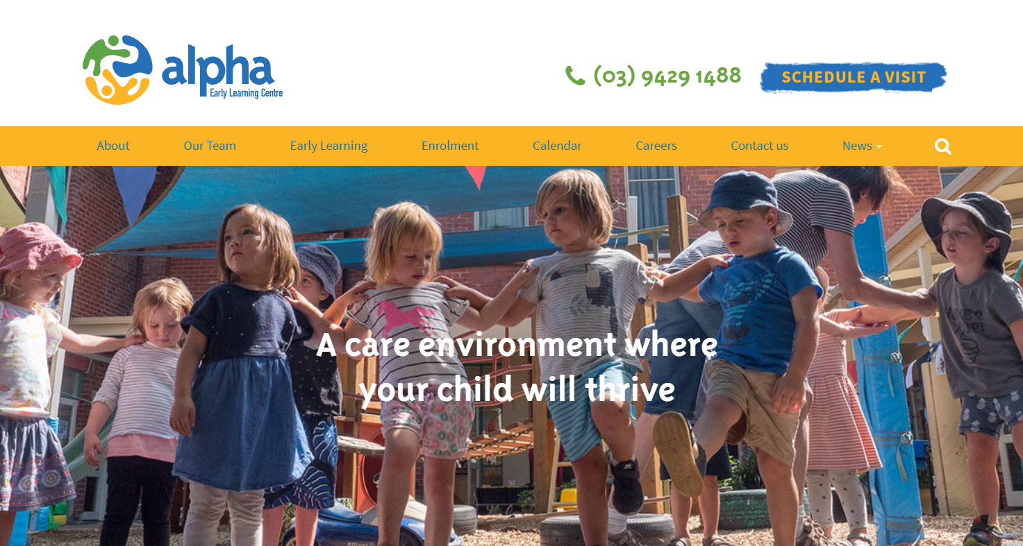 alpha early learning centre melbourne