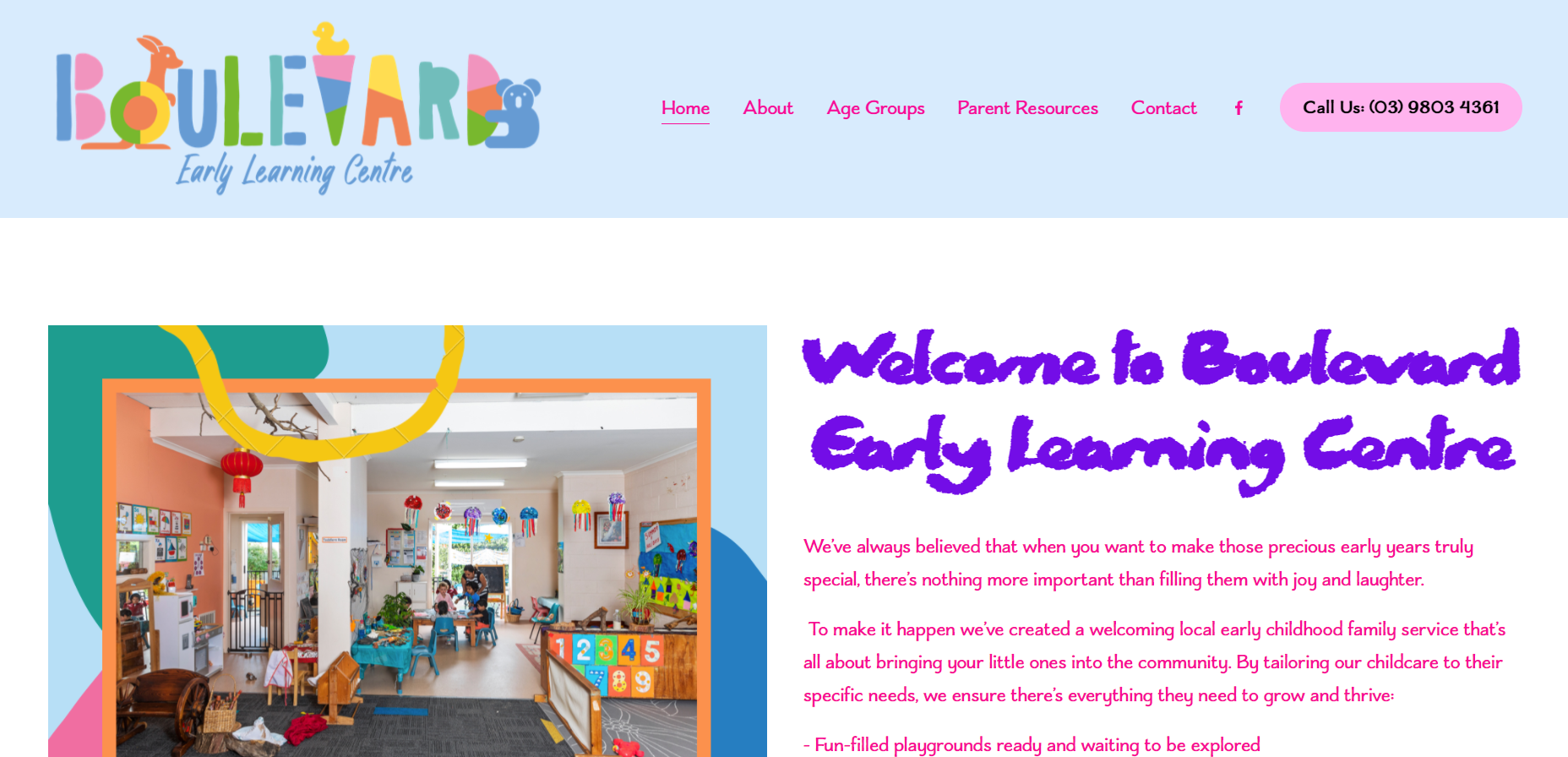 boulevard early learning centre victoria