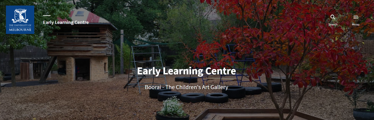 university of melbourne early learning centre