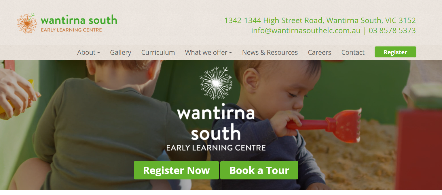 wantirna south early learning centre victoria